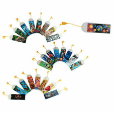 Lesezeichen 3D Effekt 6 Stück Set Bookmark Wackelbild Optik viele Motive Bommel