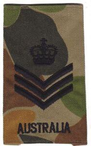 DPCU Army Australia Rank Slide SSGT X1