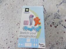 "Cricut Shapes Cartridge ""Stretch Your Imagination"" Christmas Halloween Wedding"