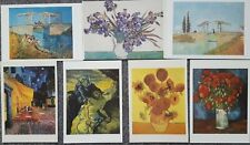 LOT OF 7 POSTCARDS OF VINCENT VAN GOGH PAINTINGS