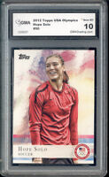 2012 Hope Solo Topps Usa Olympics Soccer Rookie Gem Mint 10 #50