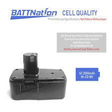 2x 18V 18 VOLT 2.0AH Battery for Craftsman Cordless Drill