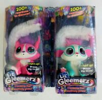 (2) Mattel Lil' Gleemerz Interactive Pet - Adorbrite & Amiglow - New in Box