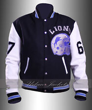 Eddie Murphy Beverly Hills Cop Detroit Lions Jacket with Leather Sleeves In Sale
