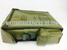 US Military Radiac radio set pouch bag waterproof OD green Alice clip Binocular
