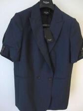 Cappotti e giacche da donna blu business con doppiopetto