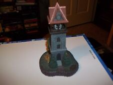 "Norman Rockwell`S Home Town Collection ""The Bell Tower"" Figurine Collectible"