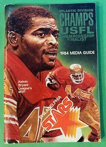 Vintage Philadelphia Stars 1984 Media / Press Guide USFL