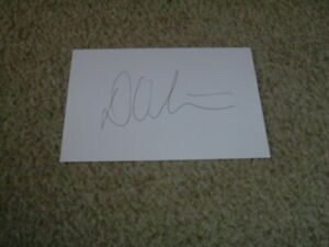 DUANNE OLIVIER - DERBYSHIRE & SOUTH AFRICA - SIGNED 6 X 4 WHITE CARD