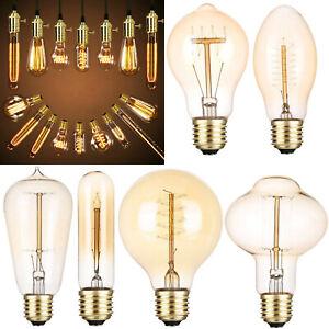 E27 40W Vintage Industrial Retro LED Edison Bulb Filament Lights Deco Lamp Bulbs