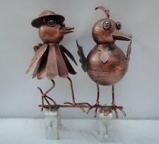 Dachrinnenfigur Vogelpaar Dachschmuck Rinnenschmuck 1979