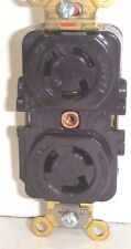 Hubbell Twist Lock Duplex Receptacle # HBL4700