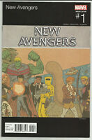 New Avengers #1 Ed Piskor Hip-Hop Variant Hawkeye Squirrel Girl Marvel 2015