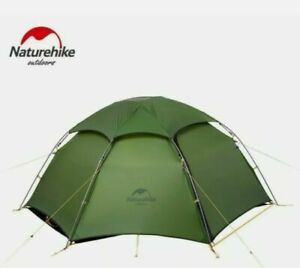 Naturehike Cloud Peak 2. Green self standing Tent - Brand New + Footprint