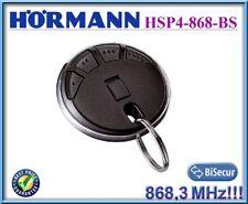 Hörmann HSP4 868 Schwarz Fernbedienung, 868,3 MHz BiSecur Handsender 4-Kanal