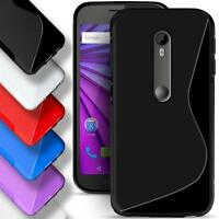 Motorola Moto X Play Silicone Gel S Line Case Cover Ultra Thin Slim Back Bumper