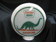 SINCLAIR with RED EARTH GAS PUMP GLOBE