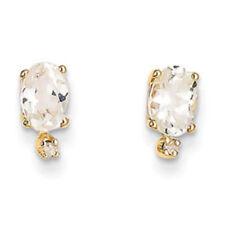 Orecchini di lusso bianco diamante naturale