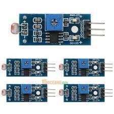 5pcsset Light Intensity Photosensitive Sensor Resistor Module Card For Arduino