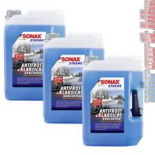 3x 5L Sonax XTREME AntiFrost&KlarSicht Konzentrat Frostschutz Scheibenreiniger