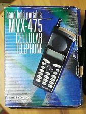 Vintage SET OF 2 Atlantic Nynex Mobile AudioVox  MVX-475, CHARGER CASE 1 UNUSED