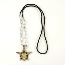 Black butler Kuroshitsuji eagle symbol Badge cosplay chain necklace