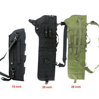 Tactical Rifle Scabbard Rifle Shotgun Military Case Shoulder Carry Bag Hunting