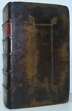 CHARLES BILL Book Common Prayer 1704 King James Bible 1707 Psalms Of David 1701