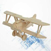 Assembler Avion Puzzle en Bois Modèle Jouets éducatifs Cadeaux pour Enfants