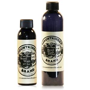 Mountaineer Brand® Beard Wash Shampoo (WV Coal) 4 oz, 8 oz