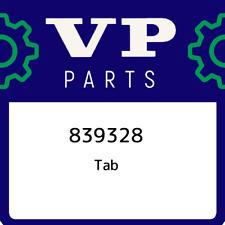 839328 Volvo penta Tab 839328, New Genuine OEM Part