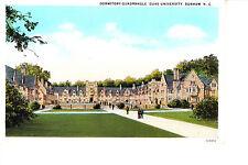 Duke University Dormitory Quadrangle 1920s Durham, Nc