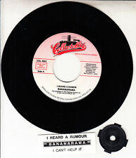"BANANARAMA  I Heard A Rumour 7"" 45 rpm vinyl record NEW + jukebox title strip"