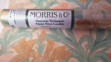SANDERSON MORRIS & CO WALLPAPER Iris peach gold WR8042/2 DISCONTINUED WASHABLE