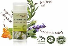 ANTI-ACNE & PIMPLE CREAM Tea Tree Flower Water Based with VitaminsB3,E,C 1oz/30g