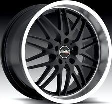18x9.5 Advanti Kudos 5X114 +35 Black Rims Aggressive Fits Civic Veloster Eclipse