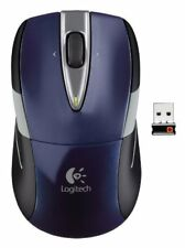 Logitech M525 Mouse - Wireless - Radio Frequency - Navy - USB - (910002698)