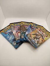 Pokemon Sun & Moon base Art Set 5 booster packs