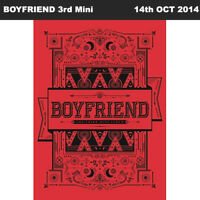 BOYFRIEND WITCH 3rd Mini Album CD+Booklet+Photocard KPOP
