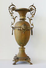 Art Nouveau French Antique Xlrg Urn Incredible Patina h
