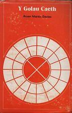 "BRYAN MARTIN DAVIES - ""Y GOLAU CAETH"" - WELSH LANGUAGE POEMS - 1st HB/DW (1972)"