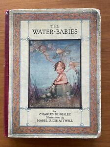 First Edition 1932 The Water Babies Book By Charles Kingsley Mabel Lucie Attwell