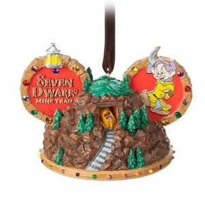 Disney Parks Mine Train Ear Hat Ornament