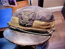 US Indian Wars Span-Am War Dress KEPI HAT w/Infantry Buttons, Bullion Eagle NEAT