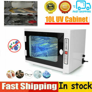 10L Double Layer Ultraviolet Ozone Towel Cabinet Home Salon Nail Art  Cleaning