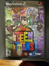 Teen Titans (Sony PlayStation 2, 2006) Tested, Works! No manual