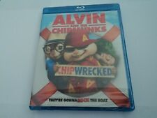 Alvin and the Chipmunks: Chipwrecked (Blu-ray Disc, 2012) New Sealed Ships Free!