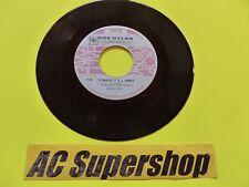 "Bob Dylan lay lady lay / I threw it all away - 45 Record Vinyl Album 7"""