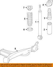 Chevrolet GM OEM 12-15 Sonic Rear-Shock Absorber or Strut 95077493