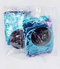 Lot of 2 Women Girl Color Change Magic Sequin Mermaid Bracelet Sequin Wristband